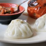 Dumplings with Sichuan Peppercorns and Spicy Tomato Sauce