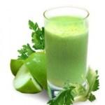 Celery, Apple and Parsley Juice