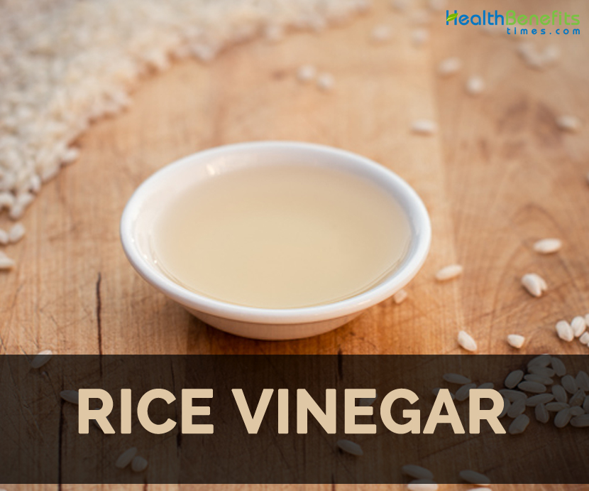 Rice vinegar facts and benefits