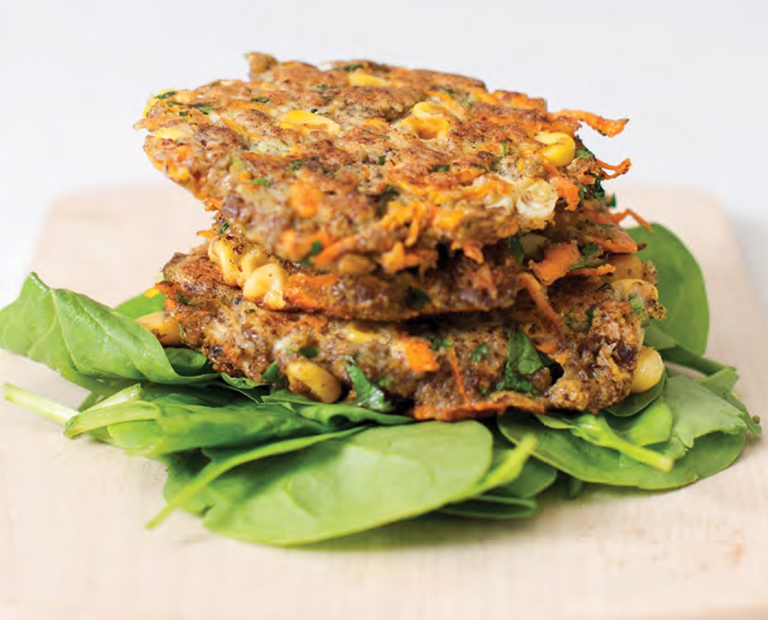 How to Make Carrot and Sweetcorn Fritters