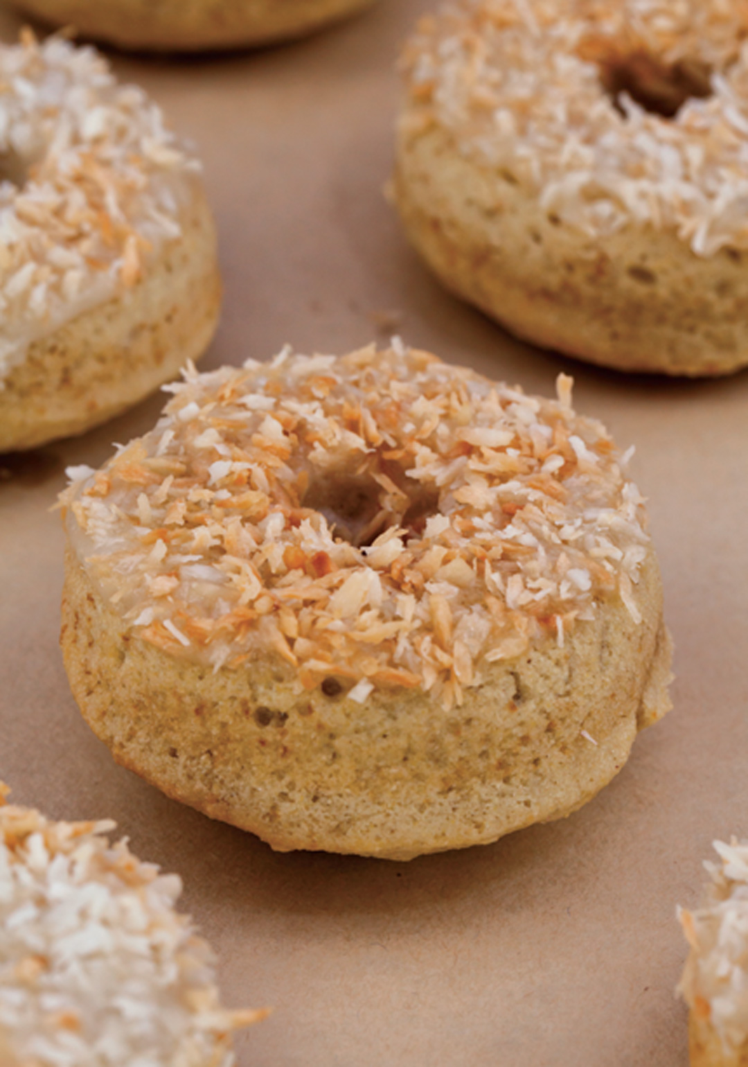 How to Make Toasted Coconut Donuts