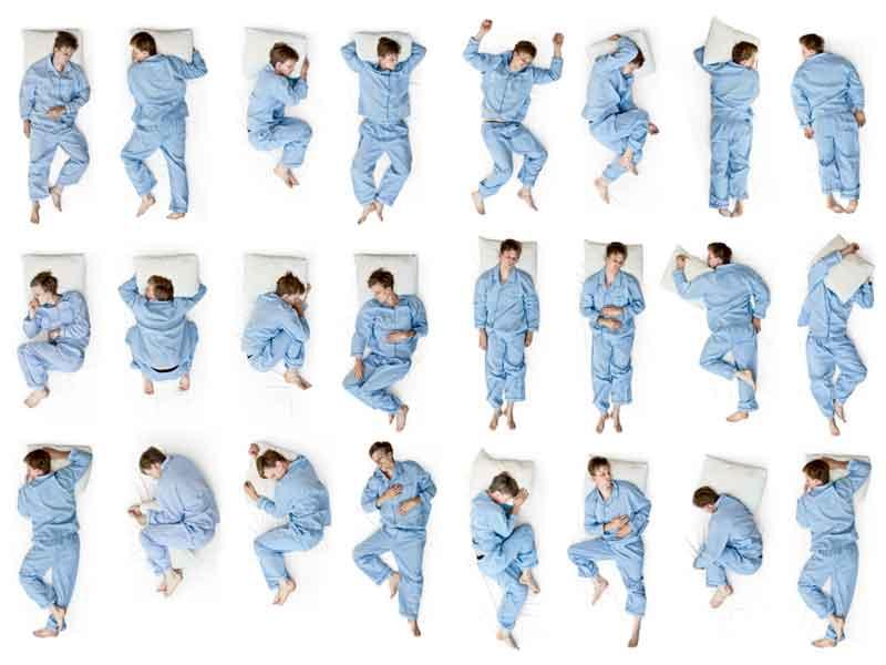 Sleeping Poses