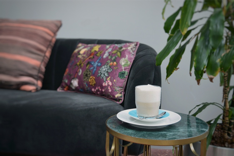 Chai latte met sojamelk