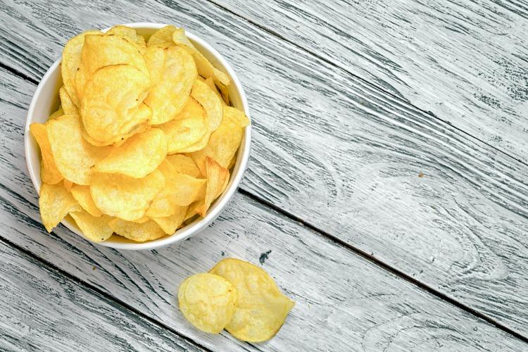 Wat kun je eten in plaats van chips?
