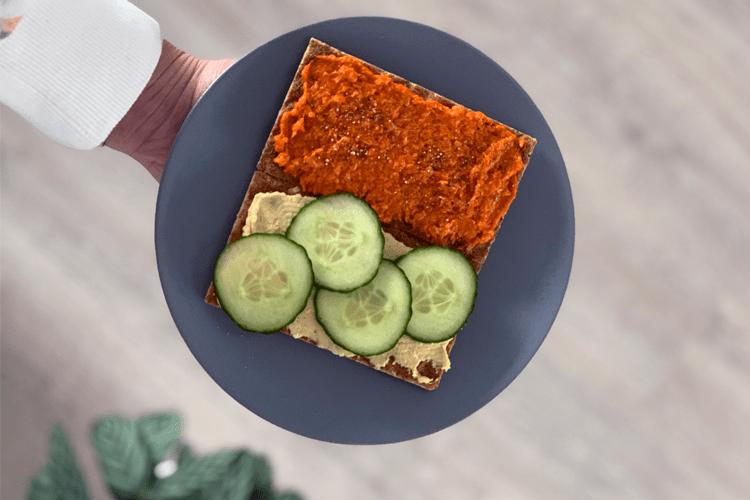 5x gezond vegetarisch broodbeleg