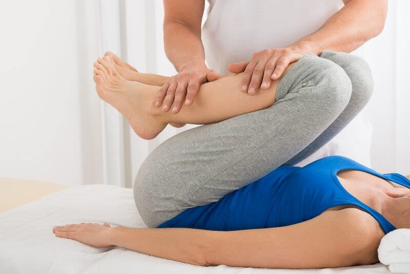 sports injury massage and physio work at our local clinic in Giles St Edinburgh