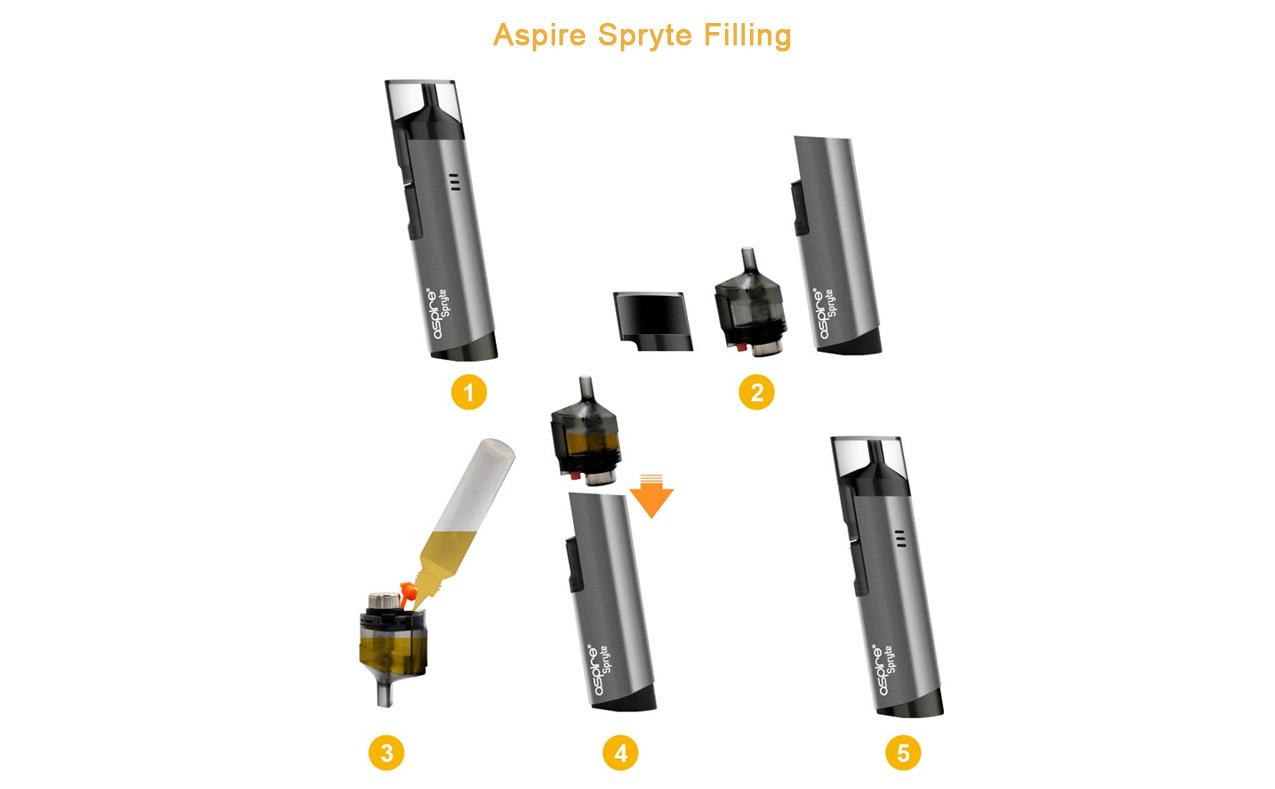 Aspire Spryte Pod Starter Kit 3 5ml 650mah
