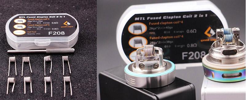 Geekvape MTL Fused Clapton Coil