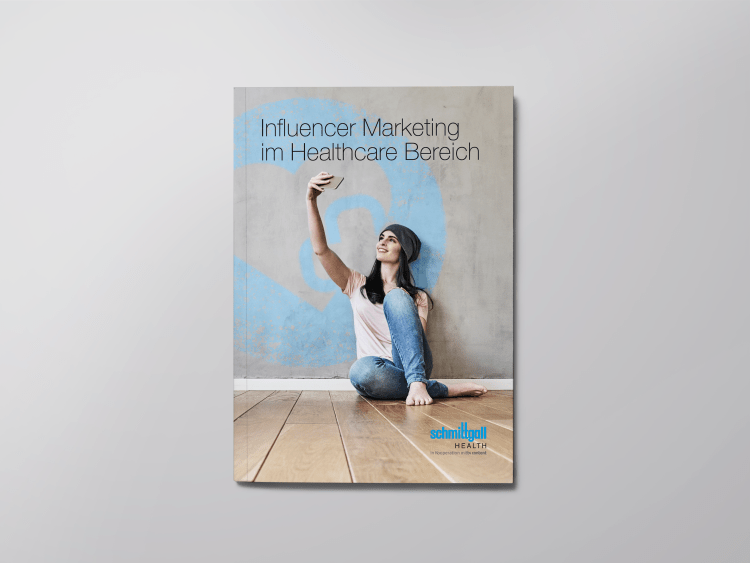 Whitepaper Cover Influencer Marketing für die Healthcare Branche