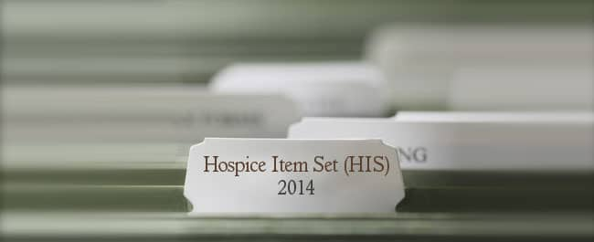 Hospice Item Set (HIS)