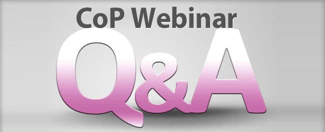 Home Health CoP Webinar Q&A