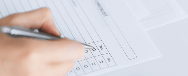 hospice software checklist