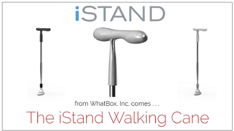New iStand Walking Cane With SmartWalk™ Technology to Revolutionize Healthcare For Senior Citizens