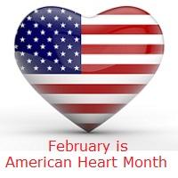 USA Flag Heart