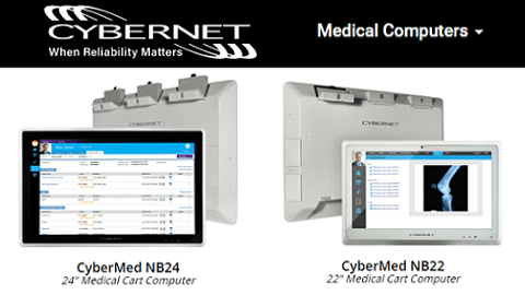 New Medical Computer Technology for Healthcare's Mobile Workstations