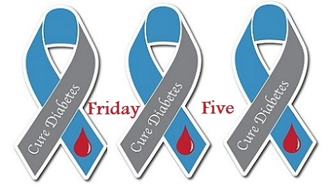 The Friday Five – American Diabetes Month