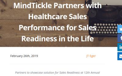 Healthcare Sales Performance, Inc. announces partnership with MindTickle