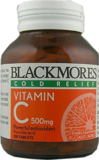 Buy Blackmores Vitamin C 500mg Tablets 130 At Health