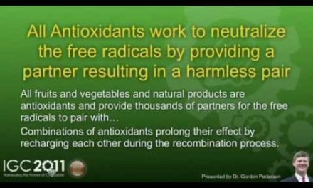 Neutralize free radicals By Eating Antioxidants Found In Healthy Dark Beyond Chocolate Says Dr. Gordon Pedersen PHD ND