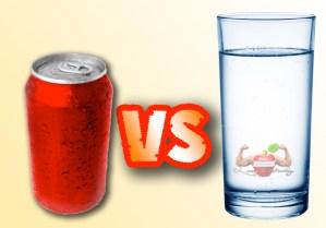 Soda vs Water