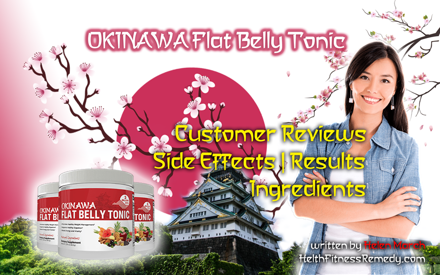 Okinawa Flat Belly Tonic Reviews: Results, Side Effects, Ingredients
