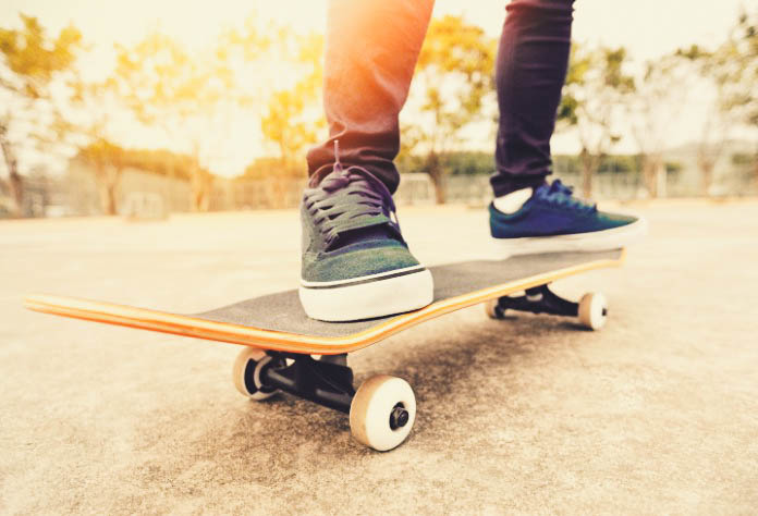 The Health Benefits of Skateboarding • Health Fitness ...