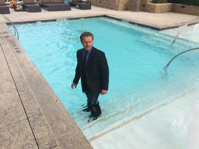 Samir Becic ALS ice bucket challenge