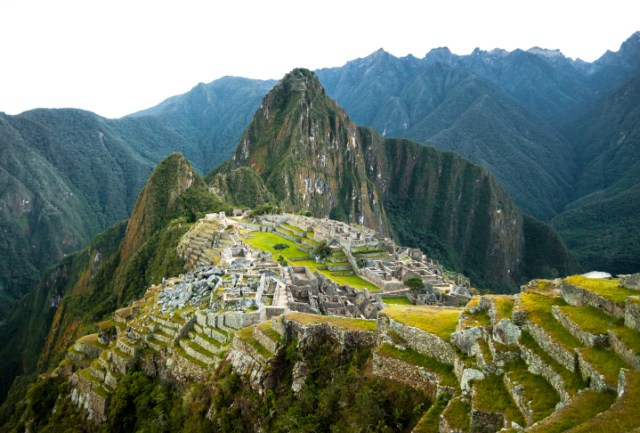 Machu Picchu view in early morning