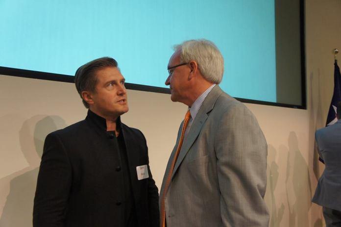 Samir Becic and Bill King