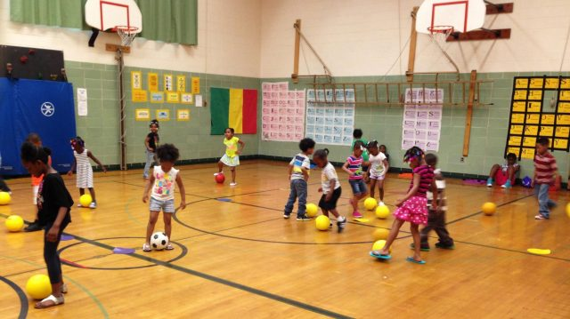 Milwaukee is reintroducing gym, art, and music classes in an attempt to boost school attendance. Photo: Erin Toner/ WUWM