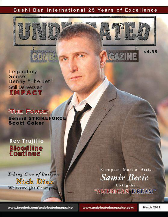 Undefeated magazine cover