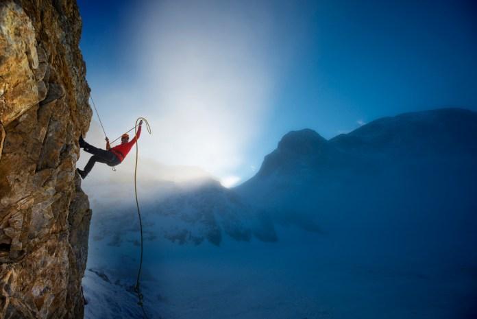 extreme Sport - climbing