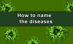 How to name the diseases