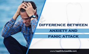 Difference between anxiety and panic attack