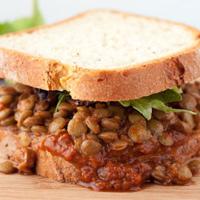 Stampede Barbecue Lentil Sandwich Healthful Pursuit
