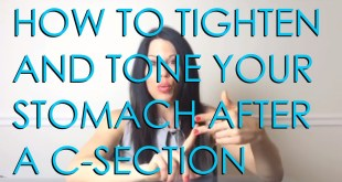 tips to loose weight after c section