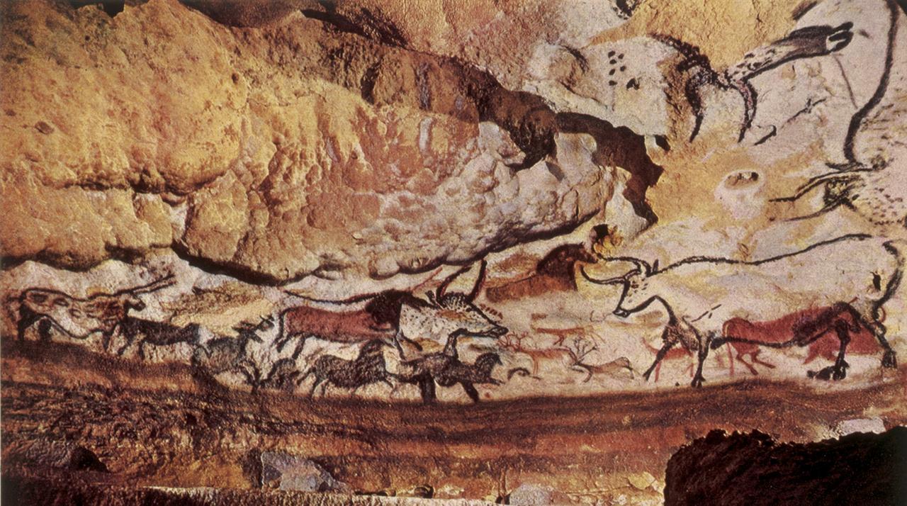 Paleolithic Era Art - Lascaux Cave, France