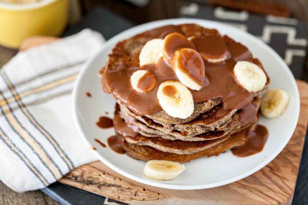 Gourmet Chocolate Peanut Butter Pancakes