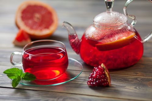 Pomegranate Detox Tea