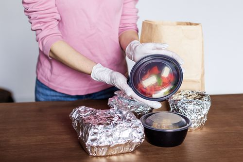 Eat right and safely packed food