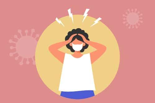 Signs of post COVID mental distress symptoms