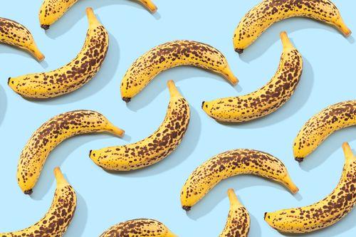 Spotted banana