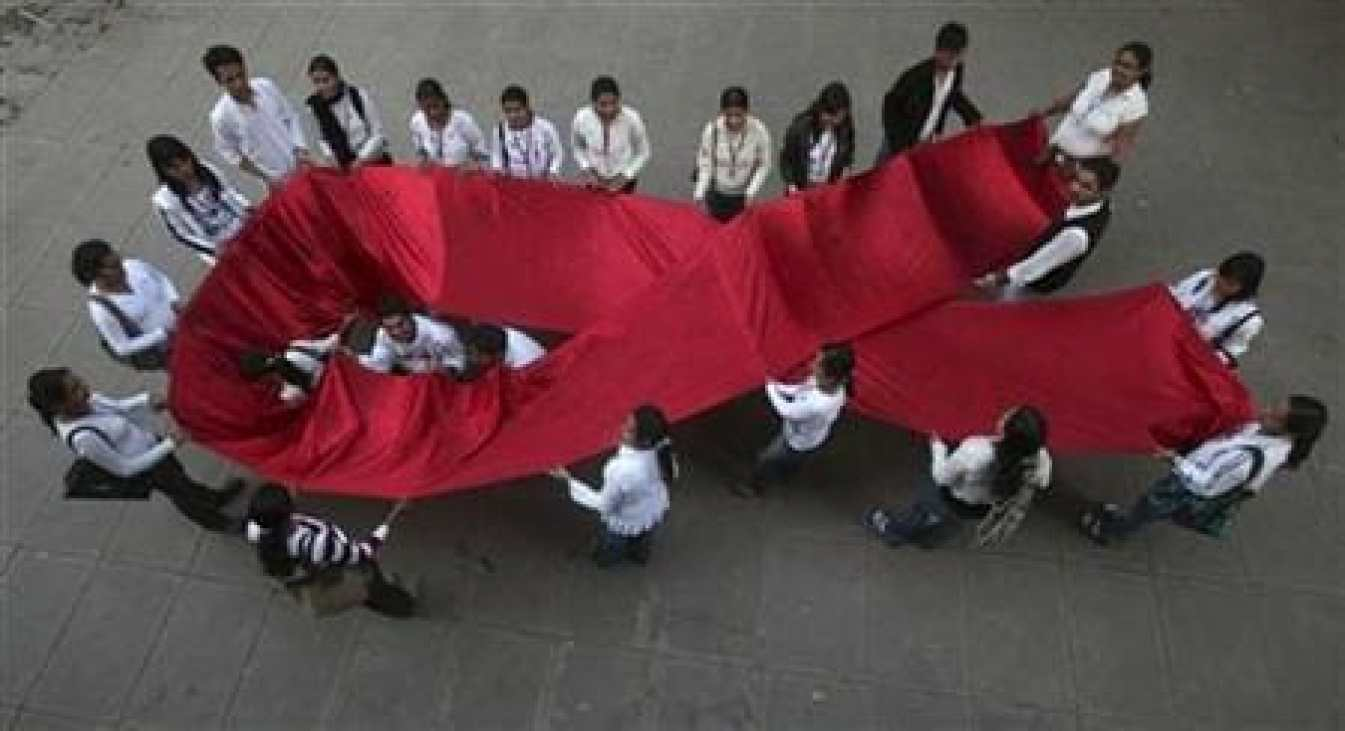 HIV awareness concept.