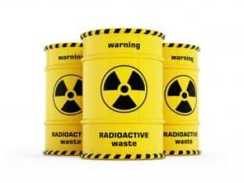 Nuclear waste barrels. Copyright: <a href='https://www.123rf.com/profile_destinacigdem'>destinacigdem / 123RF Stock Photo</a>