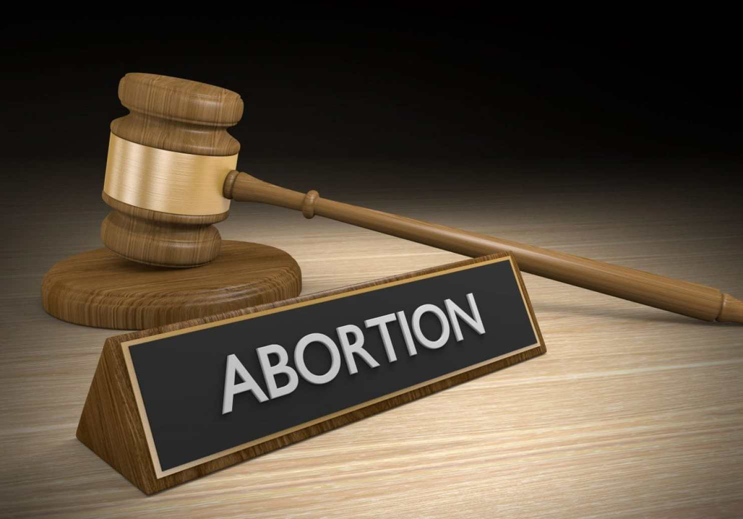 45352241 - court legal concept of abortion law, Copyright: kagenmi / 123RF Stock Photo. Several cases are provoking debate around India's abortion law - and whether it's time for change. Concept of Indian abortion law illustrated.