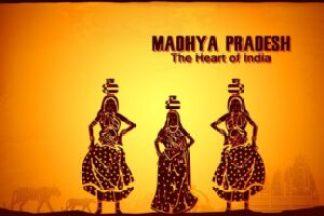 Madhya Pradesh, the Heart of India? Copyright: <a href='https://www.123rf.com/profile_stockillustration'>stockillustration / 123RF Stock Photo</a>