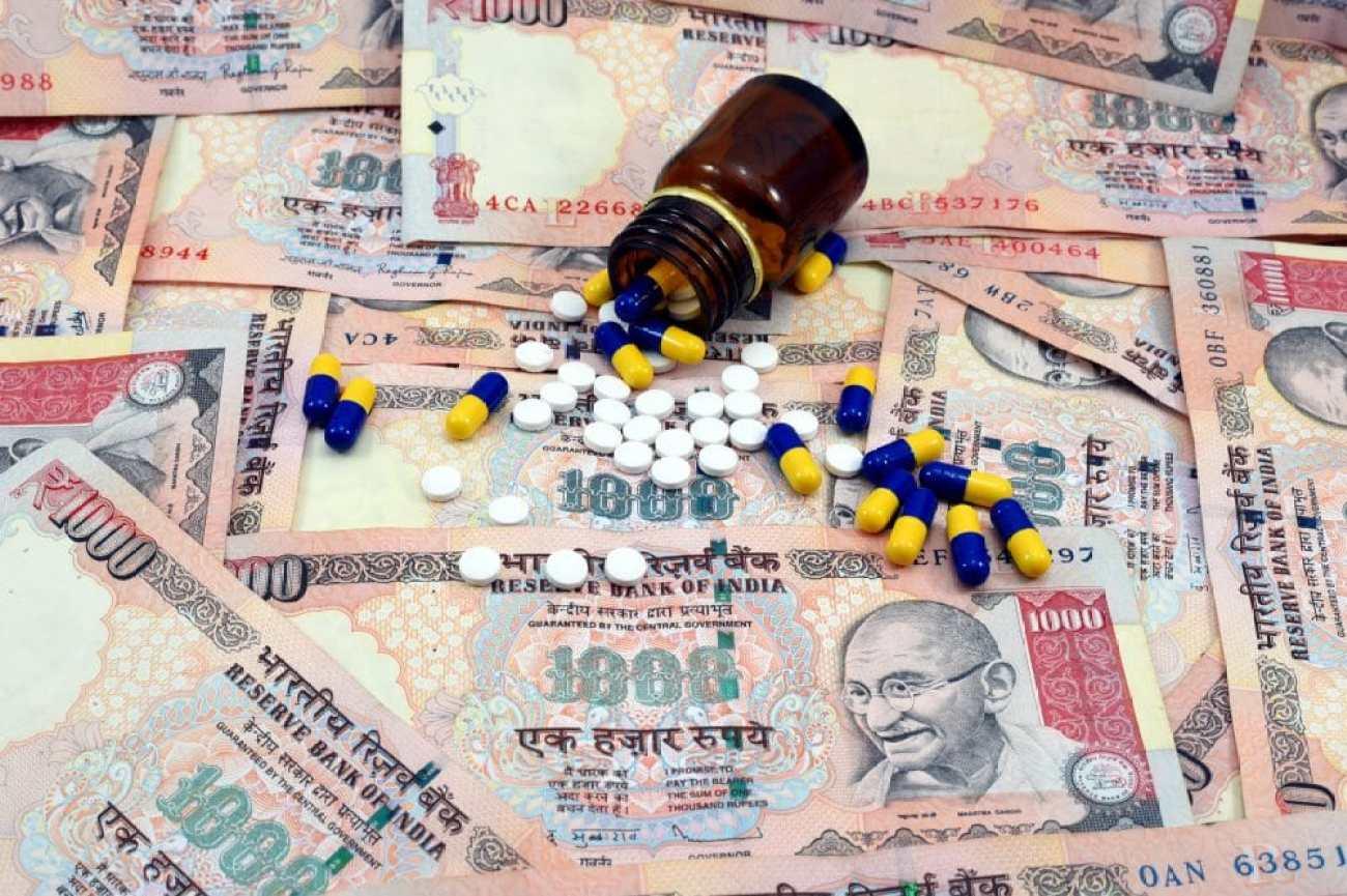 Jan Aushadhi illustration - affordable, generic medicines concept.