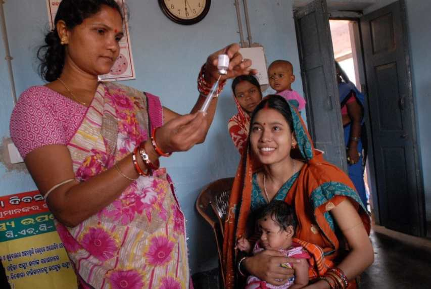 India not taking advantage of its own vaccines?