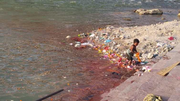 Mother Ganga.