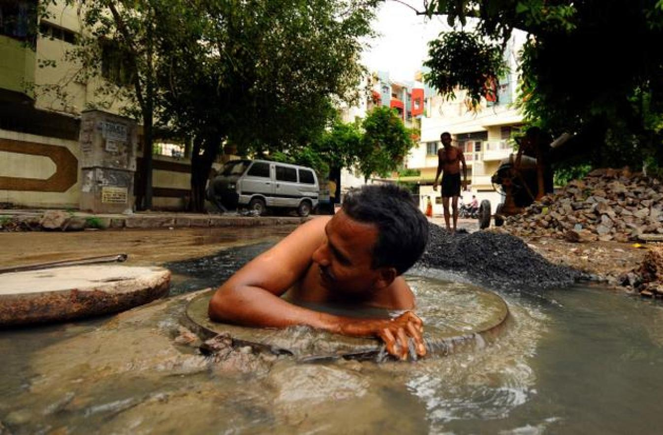 Death in the sewers: Manual scavenging continues to kill